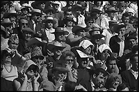 19 Septembre 1965. Vue du public dans les arènes de Toulouse.