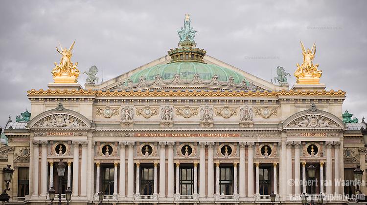 The Academie Nationale de Musique, Paris, France.