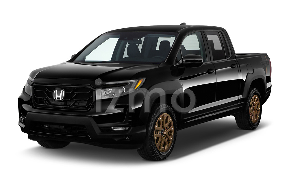 2021 Honda Ridgeline Sport 4 Door Pick-up Angular Front automotive stock photos of front three quarter view