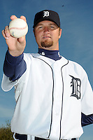Feb 21, 2009; Lakeland, FL, USA; The Detroit Tigers pitcher Brandon Lyon (37) during photoday at Tigertown. Mandatory Credit: Tomasso De Rosa/ Four Seam Images