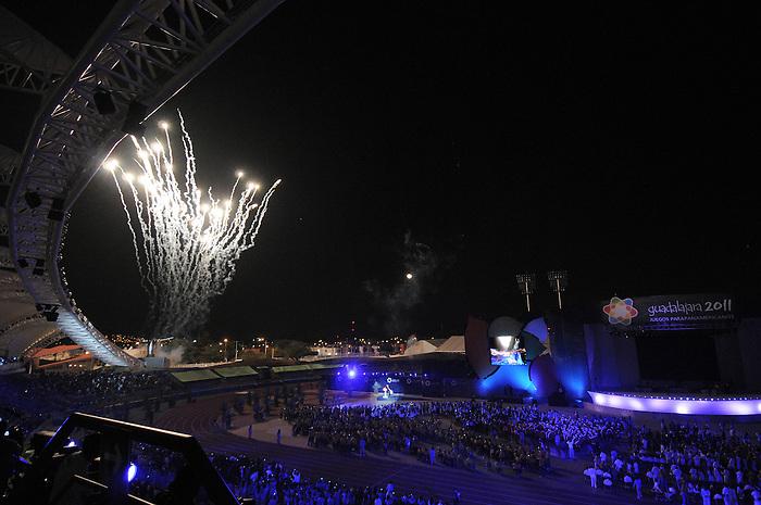 Guadalajara 2011.<br /> Highlights from the opening ceremonies // Faits saillants des cérémonies du clôture. 11/12/2011.