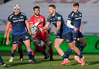 9th September 2020; AJ Bell Stadium, Salford, Lancashire, England; English Premiership Rugby, Sale Sharks versus Saracens;  Rob du Preez of Sale Sharks releases the ball for Sale