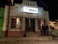 """Cantina 1890. Mexican cantina older than sonora called, 1890, in the center of the Nacozari town of Garcia, Sonora, Mexico. It is known for being the place of the heroic deed of Jesus Garcia Corona, """"The hero of Nacozari."""" Canteen, bar, canteen<br /> (Photo: LuisGutierrez / NortePhoto.com)<br /> Cantina 1890. cantina mexicana mas antigia de sonora llamada, 1890, en el centro del pueblo Nacozari de García, Sonora, Mexico. Es conocida por ser el lugar de la gesta heroica de Jesús García Corona, """"El héroe de Nacozari"""". cantina, bar, canteen"""