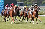 July 27, 2014: Starstruck, Kerwin Clark up, wins the Gr. III WinStar Matchmaker Stakes at Monmouth Park in Oceanport, NJ.  Trainer is Larry Jones, owner is Calumet Farm. ©Joan Fairman Kanes/ESW/CSM