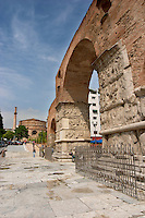 Galerius Arch of Triumph. Thessaloniki, Macedonia, Greece