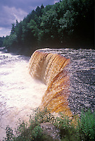 Michigan's Taquamenon Falls in the Upper Peninsola.