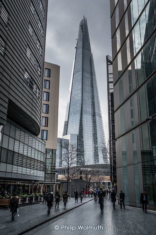 All 10 luxury apartments at the top of the 95-storey Shard, in  Southwark, London, are unsold and empty.  The tower is owned by the Qatari Sovereign Wealth Fund.