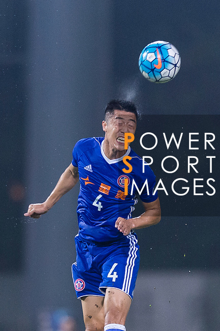 Eastern SC Midfielder Bai He in action during the AFC Champions League 2017 Group G match between Eastern SC (HKG) vs Guangzhou Evergrande FC (CHN) at the Mongkok Stadium on 25 April 2017, in Hong Kong, China. Photo by Chung Yan Man / Power Sport Images