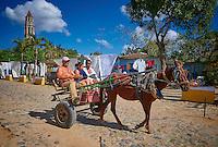 Valle de los Ingenios (Valley of the Sugar Mills) in Trinidad, Cuba