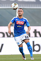 Stanislav Lobotka of SSC Napoli during the Serie A football match between Genoa CFC and SSC Napoli stadio Marassi in Genova ( Italy ), July 08th, 2020. Play resumes behind closed doors following the outbreak of the coronavirus disease. <br /> Photo Matteo Gribaudi / Image / Insidefoto