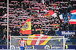 Fans of Atletico de Madrid wave flags and banners to show their supports to the team during their Copa del Rey 2016-17 Quarter-final match between Atletico de Madrid and SD Eibar at the Vicente Calderón Stadium on 19 January 2017 in Madrid, Spain. Photo by Diego Gonzalez Souto / Power Sport Images