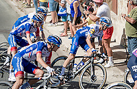 Julian Alaphilippe (FRA/Deceuninck-QuickStep)<br /> <br /> Stage 11 from Châtelaillon-Plage to Poitiers (168km)<br /> <br /> 107th Tour de France 2020 (2.UWT)<br /> (the 'postponed edition' held in september)<br /> <br /> ©kramon