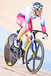 Marila Averina of Russia competes on the Women's Madison 30km Final during the 2017 UCI Track Cycling World Championships on 15 April 2017, in Hong Kong Velodrome, Hong Kong, China. Photo by Chris Wong / Power Sport Images