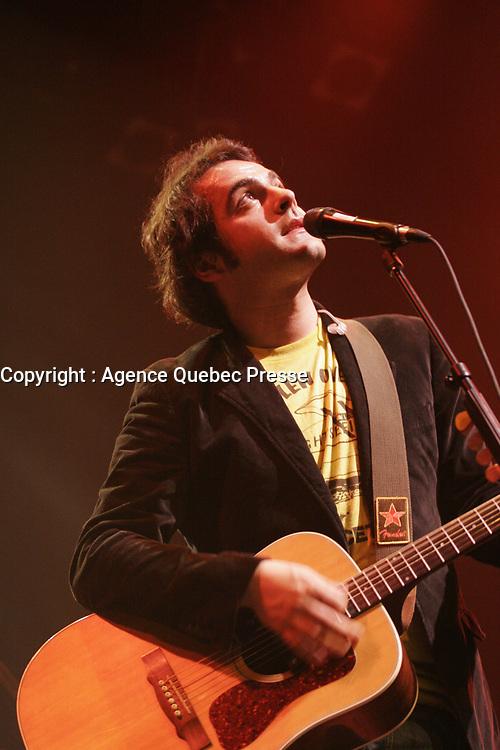 Dumas en spectacle <br /> <br /> PHOTO : Agence Quebec Prese