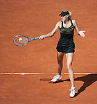 Maria Sharapova wins at Roland Garros in Paris, France on June 2, 2012