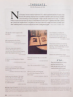 """Forbes Magazine, May 12, 2003, p. 164, used to illustrate """"Thoughts on the Business of Life.""""<br /> <br /> Polaroid Transfer photograph of an antique victorian photo album available for commercial or editorial licensing from Getty Images.  Please go to www.gettyimages.com and search for image # 10035769.<br /> <br /> Available directly from Jeff as a fine art print.  Please go to the """"Polaroid Transfers"""" gallery within this web site for more information."""