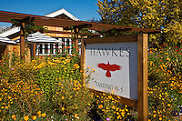 HAWKES TASTING ROOM in wine country - HEALDSBURG. CALIFORNIA