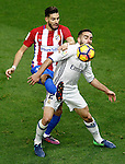 Atletico de Madrid's Yannick Ferreira Carrasco (l) and Real Madrid's Daniel Carvajal during La Liga match. November 19,2016. (ALTERPHOTOS/Acero)