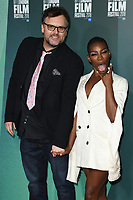 "Che Walker and Michaela Coel<br /> arriving for the London Film Festival screening of ""Been so Long"" at the Cineworld Leicester Square, London<br /> <br /> ©Ash Knotek  D3439  12/10/2018"