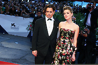 Johnny Depp and Amber Heard attend the red carpet for the premiere of the movie 'The Danish Girl' during 72nd Venice Film Festival at Palazzo Del Cinema in Venice, Italy, September 5.<br /> UPDATE IMAGES PRESS/Stephen Richie
