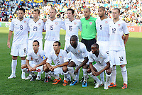 USA Starting Eleven. Brazil defeated USA 3-0 during the FIFA Confederations Cup at Loftus Versfeld Stadium in Tshwane/Pretoria, South Africa on June 18, 2009.