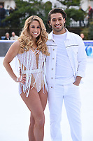 """Kem Cetinay and Alex Murphy<br /> at the """"Dancing on Ice"""" launch photocall, natural History Museum, London<br /> <br /> <br /> ©Ash Knotek  D3365  19/12/2017"""