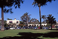 La Jolla Woman's Club, Architect Irving Gill. Photo Oct. 1999.