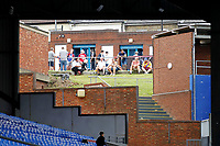 Crystal Palace FC fans watch from an elevated position during the pre season friendly match between Crystal Palace and Hertha BSC at Selhurst Park, London, England on 3 August 2019. Photo by Carlton Myrie / PRiME Media Images.