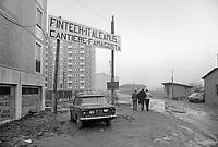 - Milano, viale Famagosta, periferia sud, 1974<br /> <br /> - Milan, Famagosta avenue, south suburbs, 1974
