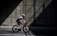 Dimitri Claeys (BEL/Qhubeka ASSOS) under the bridge<br /> <br /> 76th Dwars door Vlaanderen 2021 (MEN1.UWT)<br /> 1 day race from Roeselare to Waregem (184km)<br /> <br /> ©kramon