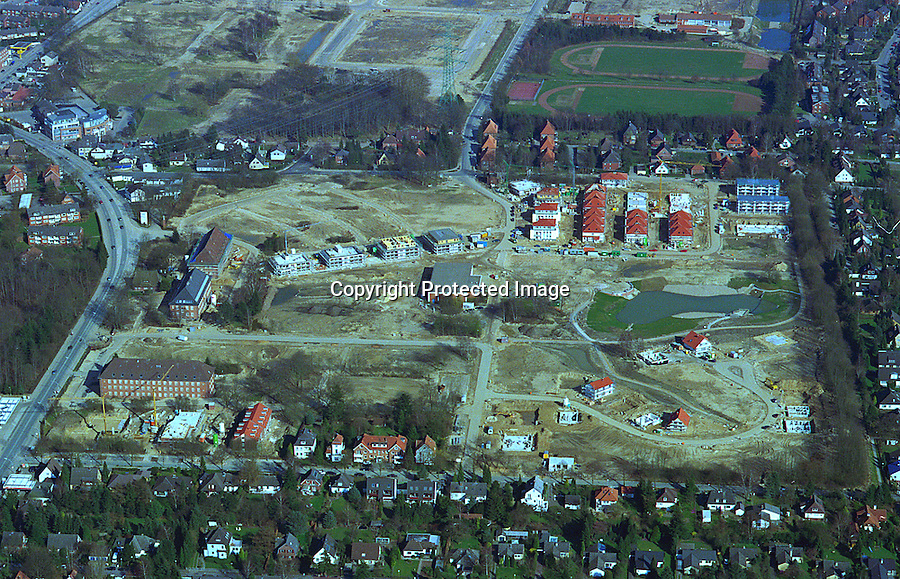 Deutschland, Schleswig- Holstein, Wentorf, Baugebiet Kaserne