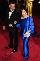 HOLLYWOOD, LOS ANGELES, CA, USA - MARCH 02: Liza Minnelli at the 86th Annual Academy Awards held at Dolby Theatre on March 2, 2014 in Hollywood, Los Angeles, California, United States. (Photo by Xavier Collin/Celebrity Monitor)