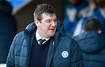 St Johnstone v Ross County…24.02.18…  McDiarmid Park    SPFL<br />A happy Tommy Wright<br />Picture by Graeme Hart. <br />Copyright Perthshire Picture Agency<br />Tel: 01738 623350  Mobile: 07990 594431