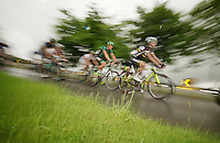 rainy day<br /> <br /> 2013 Skoda Tour de Luxembourg<br /> stage 1: Luxembourg - Hautcharage (184km)