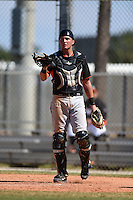 Miami Marlins Blake Anderson (23) during a minor league spring training game against the New York Mets on March 30, 2015 at the Roger Dean Complex in Jupiter, Florida.  (Mike Janes/Four Seam Images)