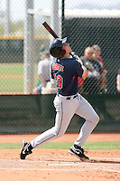 Matt McBride, Cleveland Indians 2010 minor league spring training..Photo by:  Bill Mitchell/Four Seam Images.
