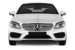 Car photography straight front view of a 2016 Mercedes Benz C-Class Sportline 2 Door Coupe Front View