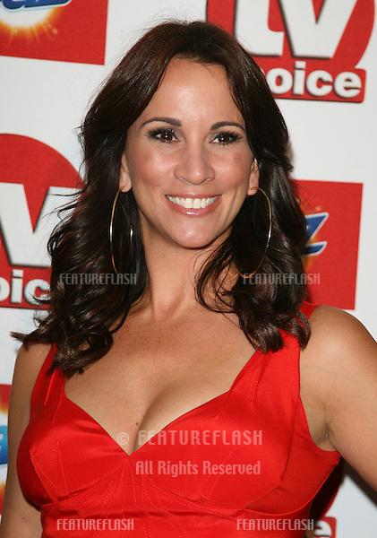 Andrea McLean arriving for the 2011 TVChoice Awards, at The Savoy, London. 13/09/2011 Picture by: Alexandra Glen / Featureflash