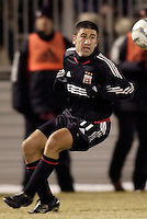 DC United's Alecko Eskandarian.  D.C. United defeated Harbour View F. C. 2 to 1 in quarterfinals action of The CONCACAF Champions Cup at Maryland SoccerPlex, Boyds, MD, on March 9, 2005.