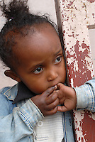 Aethiopien Addis Abeba, von christlichen Missionsschwestern geleitetes Waisenhaus fuer Waisenkinder und HIV Aids Waisen / Ethiopia, orphanage home for HIV Aids orphans in Addis Abeba
