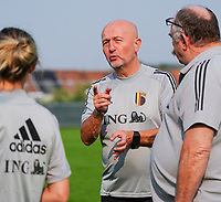 20200911 - TUBIZE , Belgium : Team manager Rudy Vanderelst pictured during a training session of the Belgian Women's National Team, Red Flames , on the 11th of September 2020 in Tubize. PHOTO SEVIL OKTEM  SPORTPIX.BE