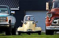 Good little runner - A tiny German bubble car that is less than 4ft long is expected to sell