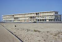 Kuwait April 1968.  A Kuwaiti Secondary School.