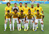 Brazil team group photo before kick off