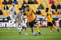 23rd May 2021; Molineux Stadium, Wolverhampton, West Midlands, England; English Premier League Football, Wolverhampton Wanderers versus Manchester United; João Moutinho of Wolverhampton Wanderers looks for position on the wing