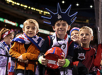 St. Louis, Mo. - Friday, November 13, 2015: The U.S. Men's National Team kicks off their 2018 FIFA World Cup Qualifying match versus St. Vincent and the Grenadines at Busch Stadium.