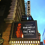 """""""Farinelli And The King"""" - Theatre Marquee"""