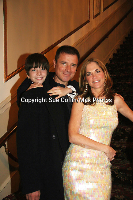 Kassie DePaiva and husband James and son JQ - The Divas of Daytime TV performed a Christmas Show on December 5, 2009 at the Broadway Theatre in Pitman, New Jersey. (Photos by Sue Coflin/Max Photos)