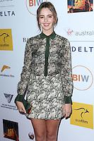 SANTA MONICA, CA, USA - OCTOBER 26: Natasha Bassett arrives at the 3rd Annual Australians in Film Awards Benefit Gala held at the Starlight Ballroom at Fairmont Miramar Hotel & Bungalows on October 26, 2014 in Santa Monica, California, United States. (Photo by Xavier Collin/Celebrity Monitor)