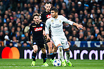 Carlos Henrique Casemiro of Real Madrid in action  during the match of Champions League between Real Madrid and SSC Napoli  at Santiago Bernabeu Stadium in Madrid, Spain. February 15, 2017. (ALTERPHOTOS)